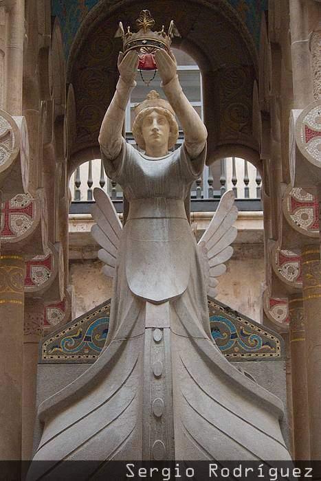 Tarragona modernista. Mausoleo de Jaime I