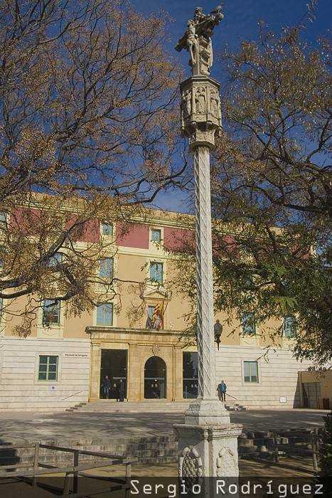 Lugares de interés de Tarragona. Palacio de la Diputación