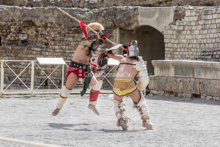 tarraco viva 2017 LUDUS juego de gladiadores
