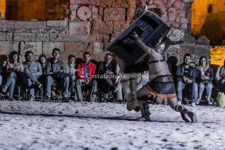 tarraco viva 2017 la vida cotidiana gladiadores LUDUS