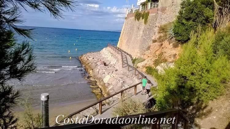 Cala Crancs, playas de Salou