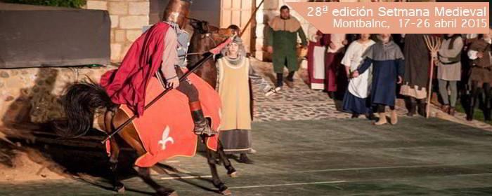 setmana medieval sant jordi 2015, montblanc