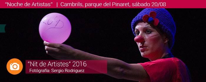 Noche de Artistas de Cambrils 2016
