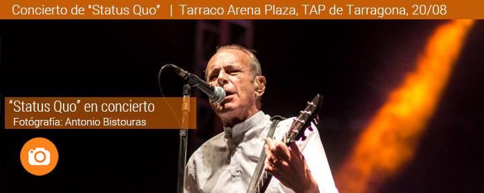 Status Quo concierto Tarraco Arena de Tarragona