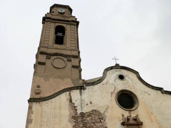pueblo Marçà Iglesia