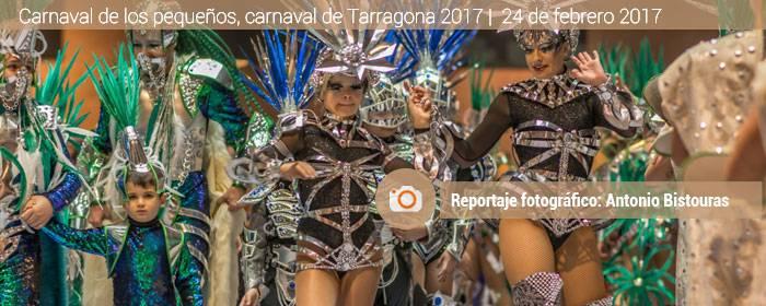 Carnaval infantil viernes Tarragona 2017