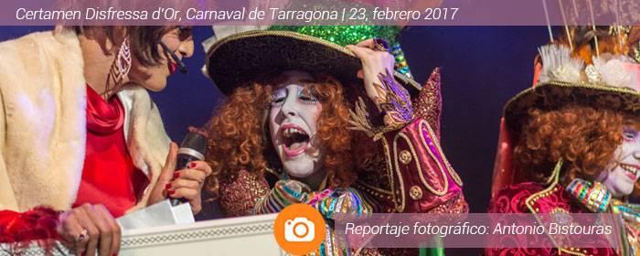 Certamen Disfressa d'Or, carnaval de Tarragona