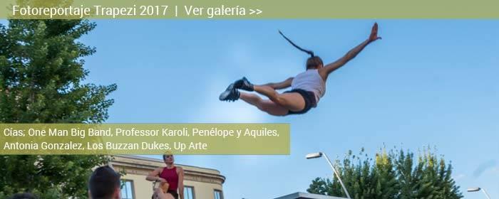Fotoreportaje trapezi reus 2017; por las calles de Reus