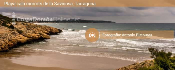 Playa cala de morrots de la savinosa, Tarragona