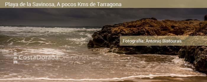 playa de la savinosa, Tarragona