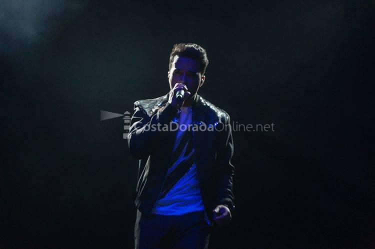 Concierto de Luís Fonsi, Nits Dauradas de Salou 2017