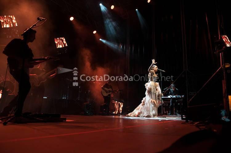 India Martínez en concierto en Salou, Nits Daurades 2017