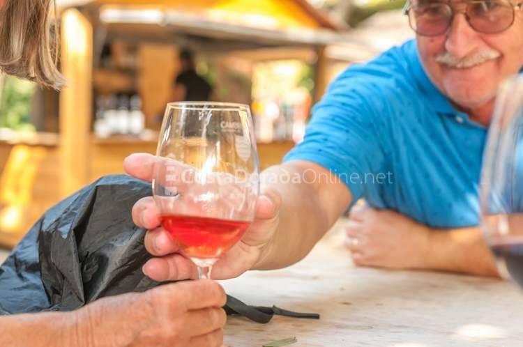 cambrils entrada al pais del vino. Parque pescador