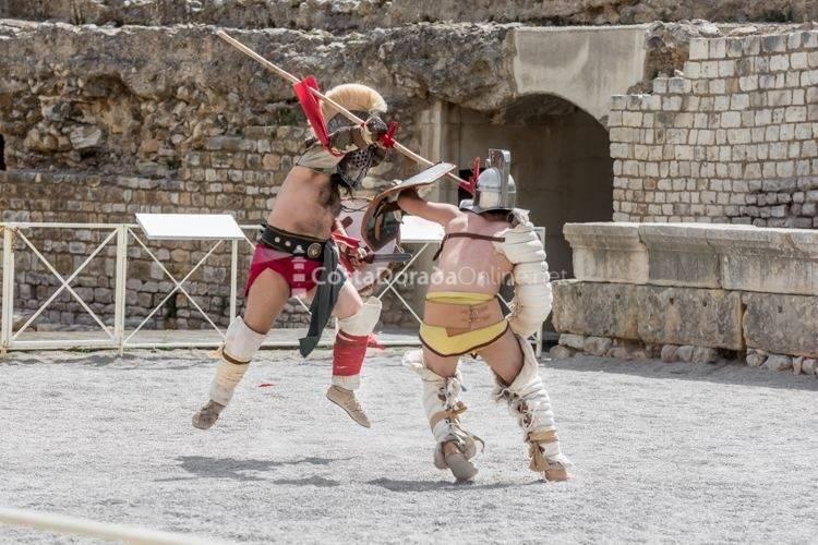 Tarraco Viva 2017; Juego de Gladiadores
