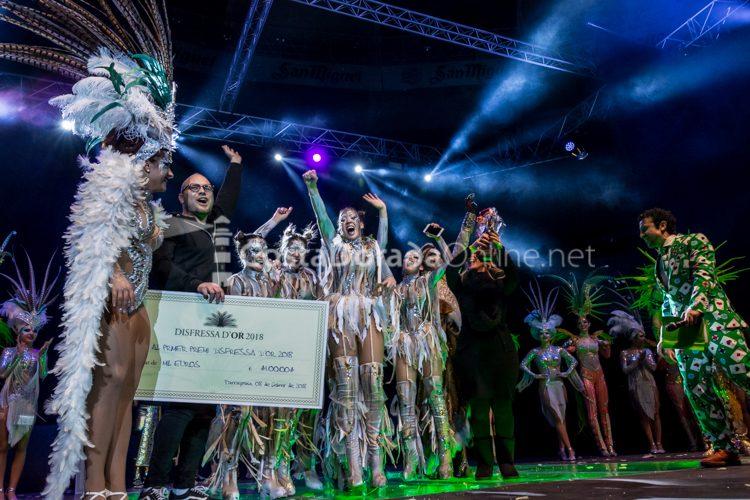 Carnaval de Tarragona 2018, Disfressa d Or