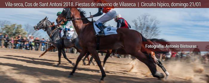 vila-seca cos de sant antoni carrera de caballos 2018
