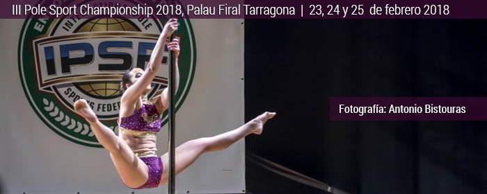 III pole sport championship 2018 tarragona