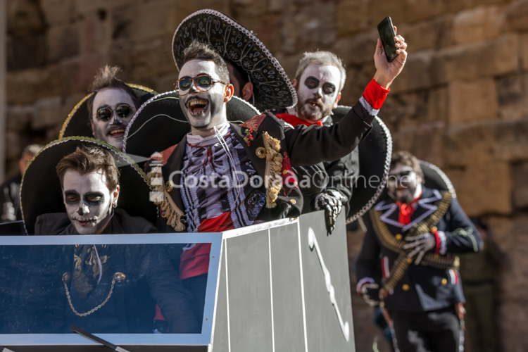 carnaval tarragona baixada del pajaritu 2018