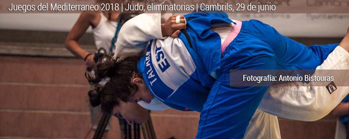 juegos mediterraneo tarragona judo eliminatorias