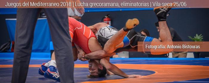 juegos mediterraneo vila-seca 2018 eliminatorias lucha grecoramana