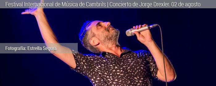Jorge Drexler en concierto FIM 2018 Cambrils
