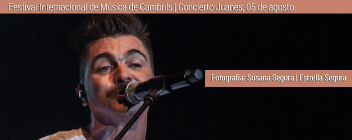 juanes concierto FIM 2018 cambrils