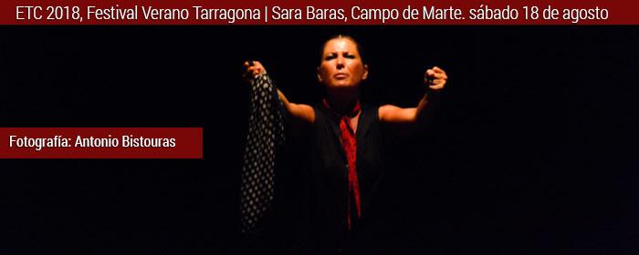 sara baras festival verano tarragona 2018
