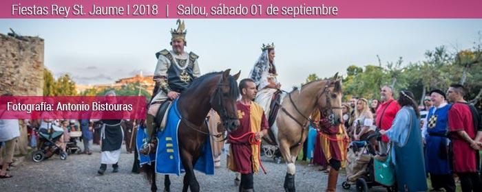 Fiesta del rey jaume I, salou 2018