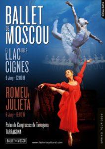 Ballet Moscú en Tarragona, nuevas fechas