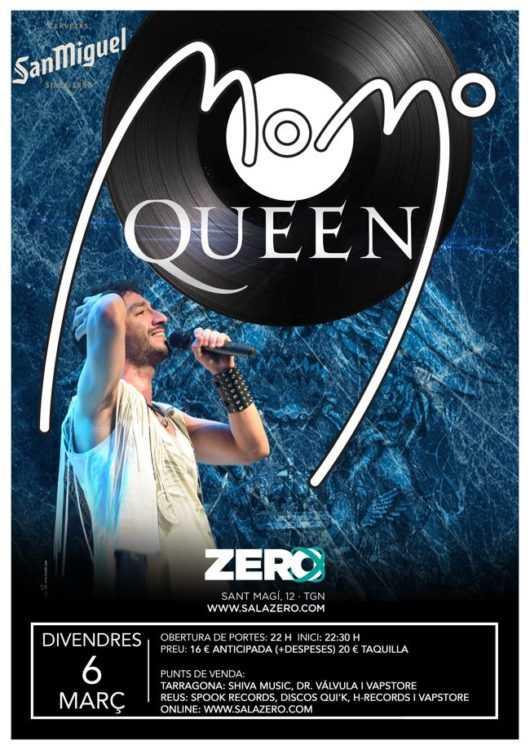 Concierto de MOMO, tributo al grupo Queen