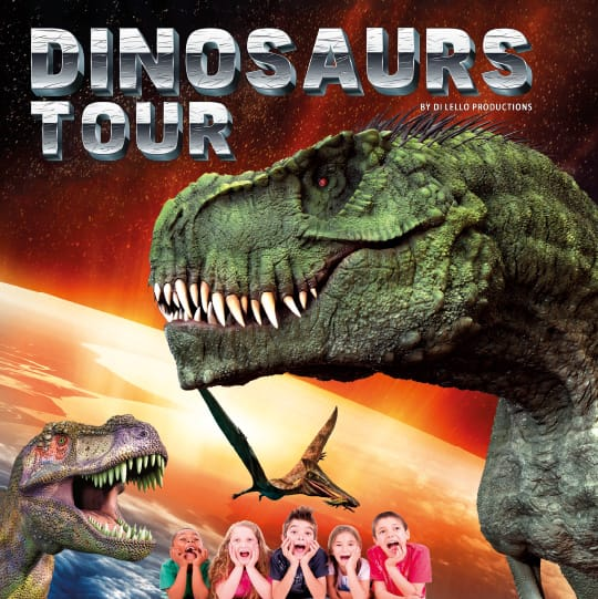 dinosaur tour